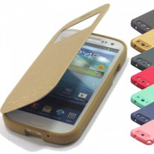 фото Чехол (книжка) Mercury Wow Bumper series для Samsung i9300 Galaxy S3