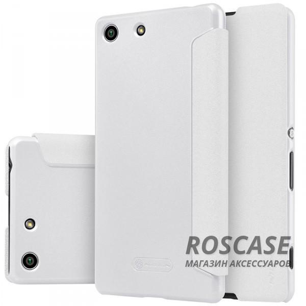 Кожаный чехол (книжка) Nillkin Sparkle Series для Sony Xperia M5 / Xperia M5 Dual (Белый)Описание:бренд -&amp;nbsp;Nillkin;совместим с Sony Xperia M5 / Xperia M5 Dual;материал - кожзам;тип: книжка.&amp;nbsp;Особенности:тонкий дизайн;не скользит в руках;блестящая поверхность;защита со всех сторон.<br><br>Тип: Чехол<br>Бренд: Nillkin<br>Материал: Искусственная кожа
