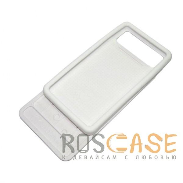Изображение Черно-белый камуфляж  Jidanke   Универсальный чехол-накладка с силиконовым бампером для смартфонов диагональю 4,3-4,7 дюймов