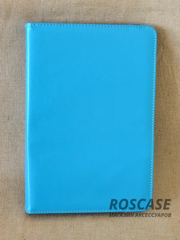 Универсальный чехол TTX (360 градусов) для планшета 8 (Бирюзовый)Описание:бренд:&amp;nbsp;TTX;совместим с планшетами с диагональю 8 дюймов;используемые материалы: поликарбонат, искусственная кожа;форма чехла: книжка.&amp;nbsp;Особенности:эластичная резинка;вращается на 360 градусов;функция подставки;усиленный поликарбонатный каркас;элегантный дизайн;строчный шов по краю;полный набор функциональных прорезей.<br><br>Тип: Чехол<br>Бренд: TTX<br>Материал: Искусственная кожа