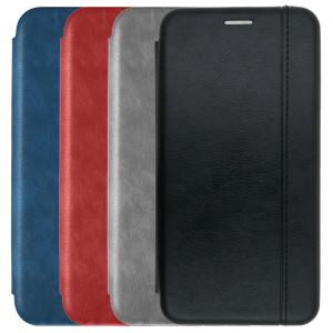 Open Color 2 | Кожаный чехол-книжка  для Xiaomi Mi Note 10 Lite