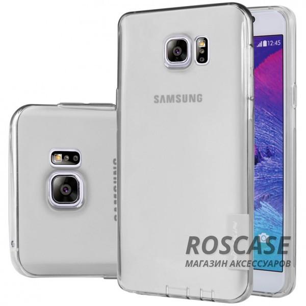 TPU чехол Nillkin Nature Series для Samsung Galaxy Note 5 (Серый (прозрачный))Описание:производитель  -  бренд&amp;nbsp;Nillkin;совместим с Samsung Galaxy Note 5;материал  -  термополиуретан;тип  -  накладка.&amp;nbsp;Особенности:в наличии все вырезы;не скользит в руках;тонкий дизайн;защита от ударов и царапин;прозрачный.<br><br>Тип: Чехол<br>Бренд: Nillkin<br>Материал: TPU