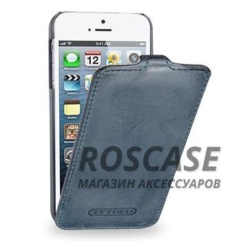 Кожаный чехол (флип) TETDED Nature Series для Apple iPhone 5/5S/SE (Синий / Ocean Blue)Описание:компания-производитель  - &amp;nbsp;TETDED;разработан специально для Apple iPhone 5/5S/5SE;материал  -  натуральная кожа;тип  -  флип.&amp;nbsp;Особенности:имеет все функциональные вырезы;на нем не видны отпечатки пальцев;безмагнитная застежка;тонкий дизайн не увеличивает габариты;защищает от ударов и царапин;морозоустойчивый.<br><br>Тип: Чехол<br>Бренд: TETDED<br>Материал: Натуральная кожа