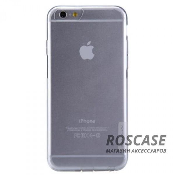 TPU чехол Nillkin Nature Series для Apple iPhone 6/6s (4.7) (Бесцветный (прозрачный))Описание:производитель  -  Nillkin;совместимость: Apple iPhone 6/6s (4.7);материал  -  термополиуретан;форма  -  накладка.&amp;nbsp;Особенности:в наличии все вырезы;матовая поверхность;не увеличивает габариты;защита от ударов и царапин;на накладке не видны &amp;laquo;пальчики&amp;raquo;.<br><br>Тип: Чехол<br>Бренд: Nillkin<br>Материал: TPU