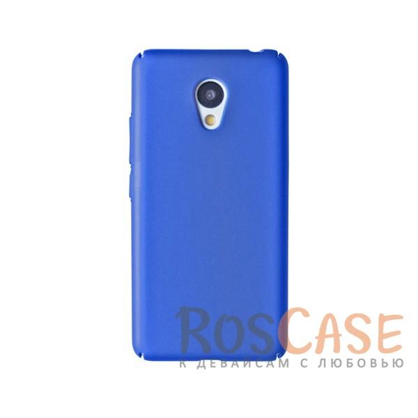Пластиковая накладка soft-touch с защитой торцов Joyroom для Meizu M3 / M3 mini / M3s (Синий)<br><br>Тип: Чехол<br>Бренд: Epik<br>Материал: Пластик