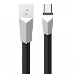 Kucipa K171 | Плоский дата кабель USB to Type-C (3A) (120см)