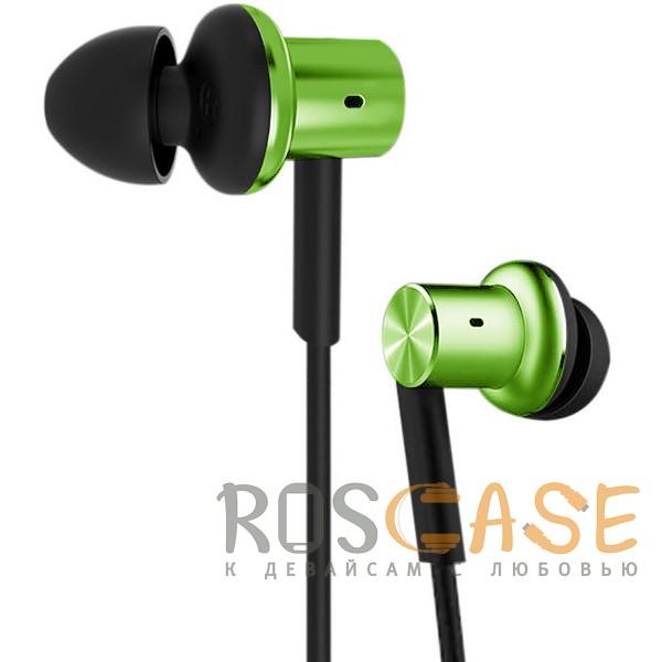 Изображение Зеленый Xiaomi PISTON 5 (реплика) | Вакуумные наушники с пультом управления и микрофоном