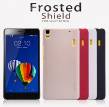 фото Матовый чехол Nillkin Super Frosted Shield для Lenovo A7000/K3 Note/K50T (+ пленка)