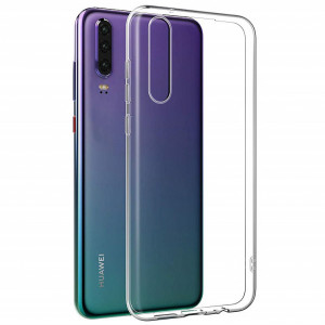 Clear Case | Прозрачный TPU чехол 2мм для Huawei P30