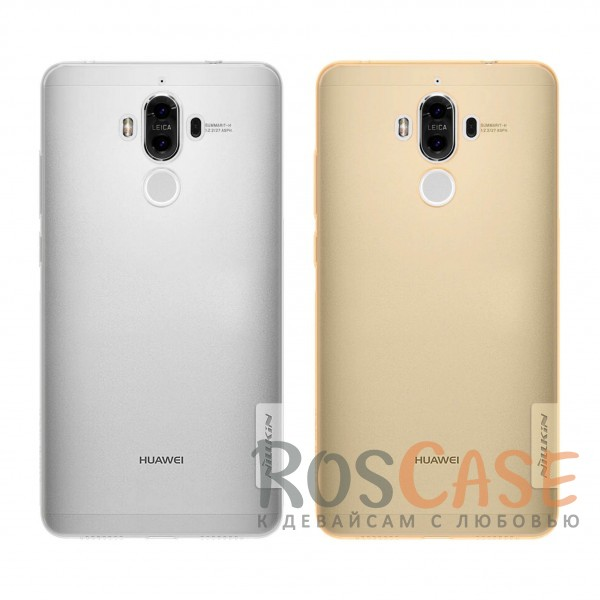 TPU чехол Nillkin Nature Series для Huawei Mate 9<br><br>Тип: Чехол<br>Бренд: Nillkin<br>Материал: TPU
