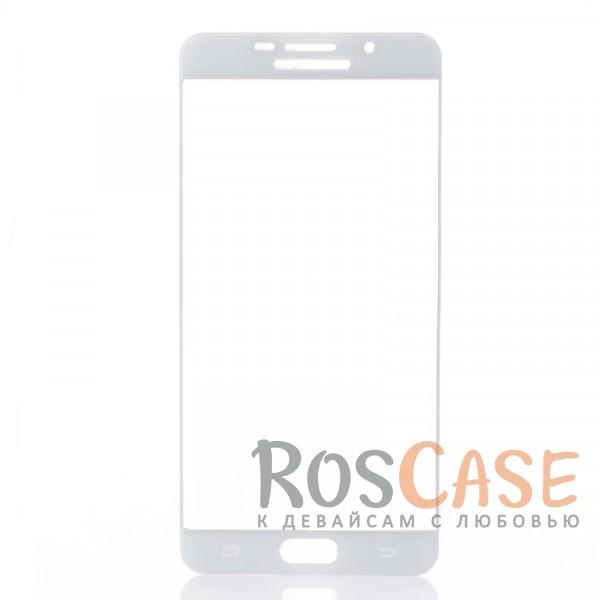 Защитное стекло с цветной рамкой на весь экран с олеофобным покрытием анти-отпечатки для Samsung A710F Galaxy A7 (2016) (Белый)Описание:компания&amp;nbsp;Epik;совместимо с Samsung A710F Galaxy A7 (2016);материал: закаленное стекло;тип: защитное стекло на экран.Особенности:полностью закрывает дисплей;толщина - 0,3 мм;цветная рамка;прочность 9H;покрытие анти-отпечатки;защита от ударов и царапин.<br><br>Тип: Защитное стекло<br>Бренд: Epik