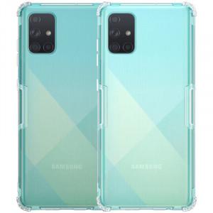 Nillkin Nature | Прозрачный силиконовый чехол  для Samsung Galaxy A71
