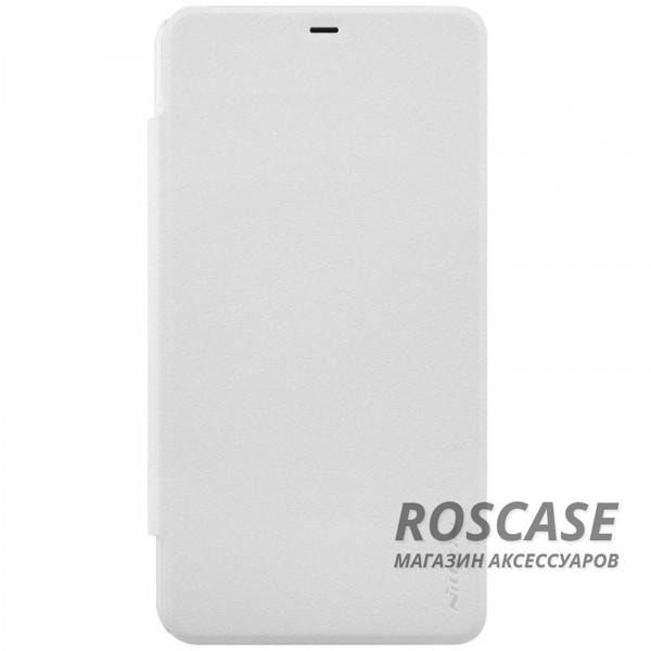Кожаный чехол (книжка) Nillkin Sparkle Series для Microsoft Lumia 640XL (Белый)Описание:бренд&amp;nbsp;Nillkin;изготовлен специально для Microsoft Lumia 640XL;материал: искусственная кожа, поликарбонат;тип: чехол-книжка.Особенности:не скользит в руках;защита от механических повреждений;не выгорает;блестящая поверхность;надежная фиксация.<br><br>Тип: Чехол<br>Бренд: Nillkin<br>Материал: Искусственная кожа