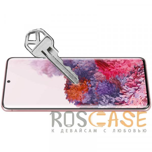 Фотография Черное Nillkin 3D DS+ Max   Защитное стекло полноэкранное с полной проклейкой для Samsung Galaxy S20