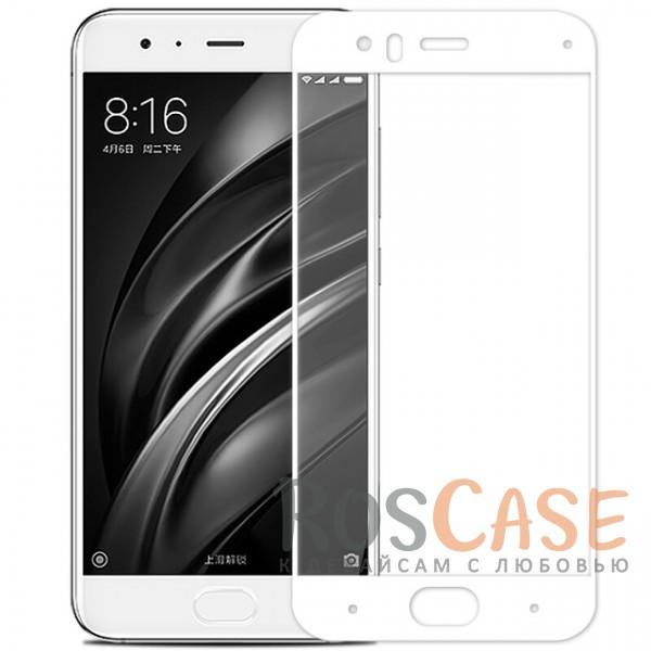 Купить Caseguru | Полноэкранное Защитное Стекло Для Для Xiaomi Mi 6 (Белый)