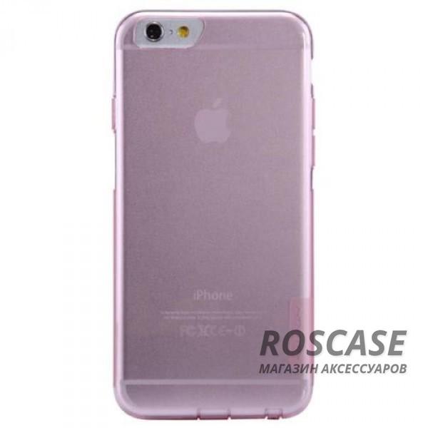 TPU чехол Nillkin Nature Series для Apple iPhone 6/6s (4.7) (Розовый (прозрачный))Описание:производитель  -  Nillkin;совместимость: Apple iPhone 6/6s (4.7);материал  -  термополиуретан;форма  -  накладка.&amp;nbsp;Особенности:в наличии все вырезы;матовая поверхность;не увеличивает габариты;защита от ударов и царапин;на накладке не видны &amp;laquo;пальчики&amp;raquo;.<br><br>Тип: Чехол<br>Бренд: Nillkin<br>Материал: TPU