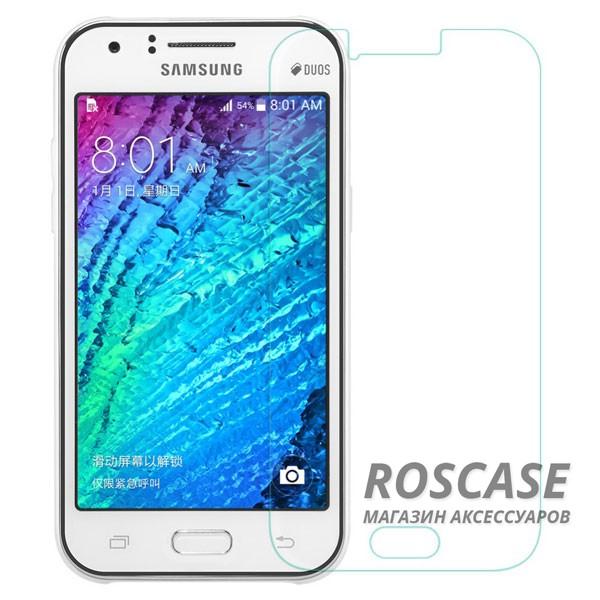 Защитное стекло Ultra Tempered Glass 0.33mm (H+) для Samsung J200H Galaxy J2 Duos (карт. уп-вка)Описание:бренд&amp;nbsp;Epik;разработано для&amp;nbsp;Samsung J200H Galaxy J2 Duos;материал: закаленное стекло;тип: защитное стекло на экран.&amp;nbsp;Особенности:закругленные&amp;nbsp;грани;не влияет на чувствительность сенсора;легко очищается;толщина - &amp;nbsp;0,33 мм;прозрачное;защита от царапин и ударов.<br><br>Тип: Защитное стекло<br>Бренд: Epik