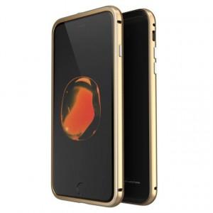 "LUPHIE Metal Frame | Металлический бампер для Apple iPhone 8 (4.7"") с глянцевой панелью"