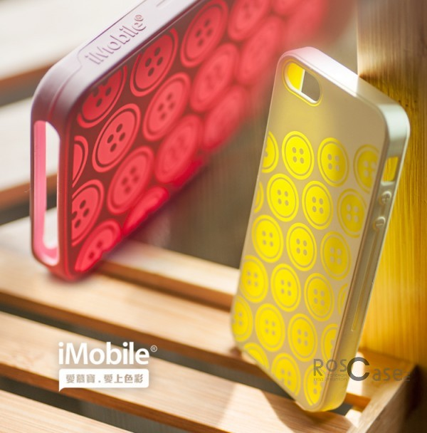 Фото силиконового чехла iMobile Impression Laser Series для Apple iPhone 5