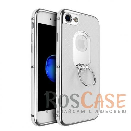 Стильный чехол с глянцевым бампером iPaky (original) Ring с кольцом-подставкой для Apple iPhone 7 / 8 (4.7) (Белый)Описание:идеально совместим с Apple iPhone 7 / 8 (4.7);бренд - iPaky;материал - поликарбонат, термополиуретан;тип - накладка.<br><br>Тип: Чехол<br>Бренд: iPaky<br>Материал: Пластик
