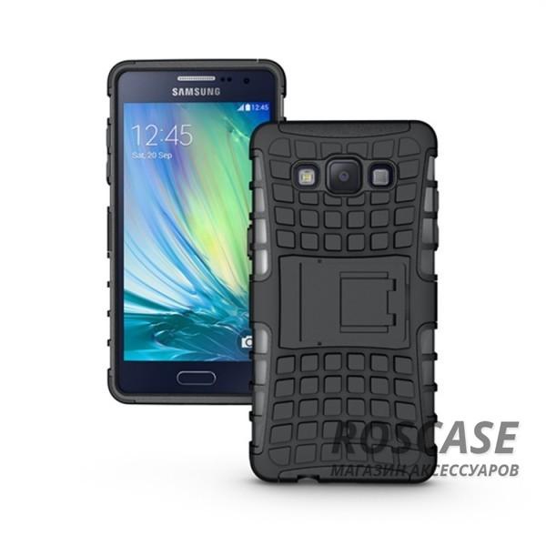 Противоударный двухслойный чехол Shield для Samsung i9300 Galaxy S3 с подставкой (Черный)Описание:разработан для Samsung i9300 Galaxy S3;материалы: поликарбонат, термополиуретан;тип: накладка.&amp;nbsp;Особенности:двухслойный;ударопрочный;оригинальный дизайн;стильный дизайн;в наличии все функциональные вырезы;функция подставки.<br><br>Тип: Чехол<br>Бренд: Epik<br>Материал: TPU