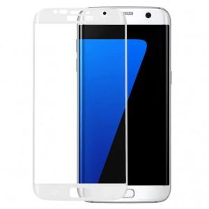 Защитное 3D стекло на весь экран (цветное)  для Samsung Galaxy S6 Edge (G925F)