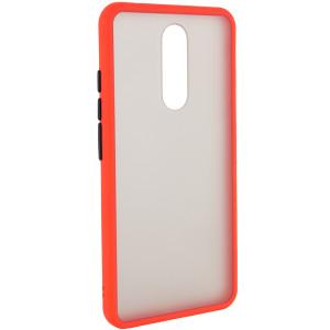 Противоударный матовый полупрозрачный чехол  для Xiaomi Redmi 8