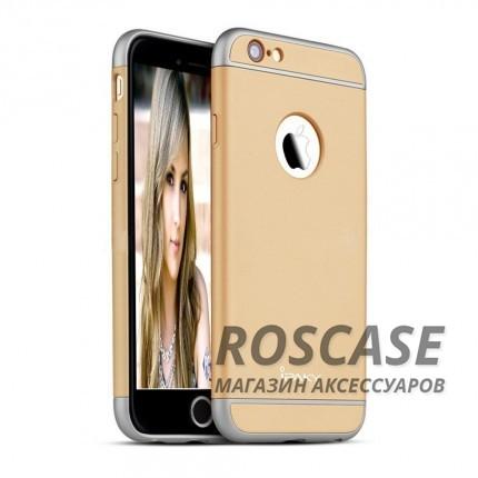 Чехол iPaky Joint Series для Apple iPhone 6/6s (4.7) (Золотой)Описание:производитель: iPaky;совместимость: смартфон Apple iPhone 6/6s (4.7);материал: пластик;форм-фактор: накладка.Особенности:узнаваемый и стильный дизайн;надежная система фиксации;прочный и износостойкий;не деформируется;не скользит в руках и на поверхности.<br><br>Тип: Чехол<br>Бренд: Epik<br>Материал: Пластик