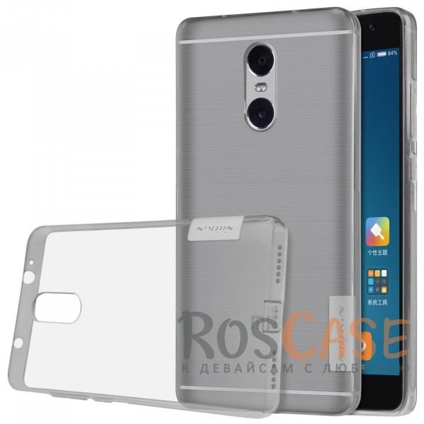 Мягкий прозрачный силиконовый чехол для Xiaomi Redmi Pro (Серый (прозрачный))Описание:производитель  -  бренд&amp;nbsp;Nillkin;подходит для Xiaomi Redmi Pro;материал  -  термополиуретан;тип  -  накладка.&amp;nbsp;Особенности:в наличии все вырезы;не скользит в руках;тонкий дизайн;защита от ударов и царапин;прозрачный.<br><br>Тип: Чехол<br>Бренд: Nillkin<br>Материал: TPU