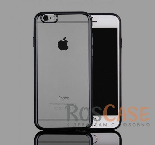 Прозрачный силиконовый чехол для Apple iPhone 7 (4.7) с глянцевой окантовкой (Серый)Описание:материал - силикон;совместим с Apple iPhone 7 (4.7);тип - накладка.Особенности:прозрачный;глянцевая окантовка;все вырезы предусмотрены;защищает от царапин и потертостей;тонкий дизайн;плотно облегает корпус.<br><br>Тип: Чехол<br>Бренд: Epik<br>Материал: TPU