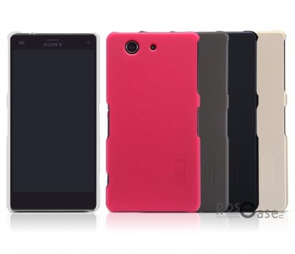Чехол Nillkin Matte для Sony Xperia Z3 Compact (+ пленка)Описание:Чехол изготовлен компанией&amp;nbsp;Nillkin;Спроектирован для Sony Xperia Z3 Compact;Материал  -  пластик;Форма  -  накладка.Особенности:Полностью защищен от появления потертостей;В комплект входит глянцевая пленка;Имеет ребристое матовое покрытие и антикислотное напыление;Тонкий дизайн.<br><br>Тип: Чехол<br>Бренд: Nillkin<br>Материал: Поликарбонат