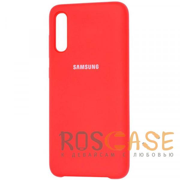 Фото Красный / Red Чехол Silicone Cover для Samsung Galaxy A50 (A505F) / A50s / A30s