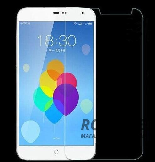 Защитное стекло Ultra Tempered Glass 0.33mm (H+) для Meizu MX3 (картонная упаковка)Описание:совместимо с устройством Meizu MX3;материал: закаленное стекло;тип: защитное стекло на экран.&amp;nbsp;Особенности:закругленные&amp;nbsp;грани стекла обеспечивают лучшую фиксацию на экране;стекло очень тонкое - 0,33 мм;отзыв сенсорных кнопок сохраняется;стекло не искажает картинку, так как абсолютно прозрачное;выдерживает удары и защищает от царапин;размеры и вырезы стекла соответствуют особенностям дисплея.<br><br>Тип: Защитное стекло<br>Бренд: Epik