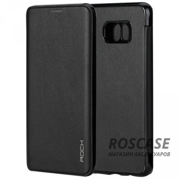 Чехол (книжка) Rock Touch series для Samsung Galaxy S6 Edge Plus (Черный / Black)Описание:производитель -&amp;nbsp;ROCK;совместим с Samsung Galaxy S6 Edge Plus;материал: искусственная кожа;тип: чехол-книжка.Особенности:все функциональные вырезы в наличии;на чехле не заметны отпечатки пальцев;защита от механических повреждений;матовый;не скользит в руках.<br><br>Тип: Чехол<br>Бренд: ROCK<br>Материал: Искусственная кожа