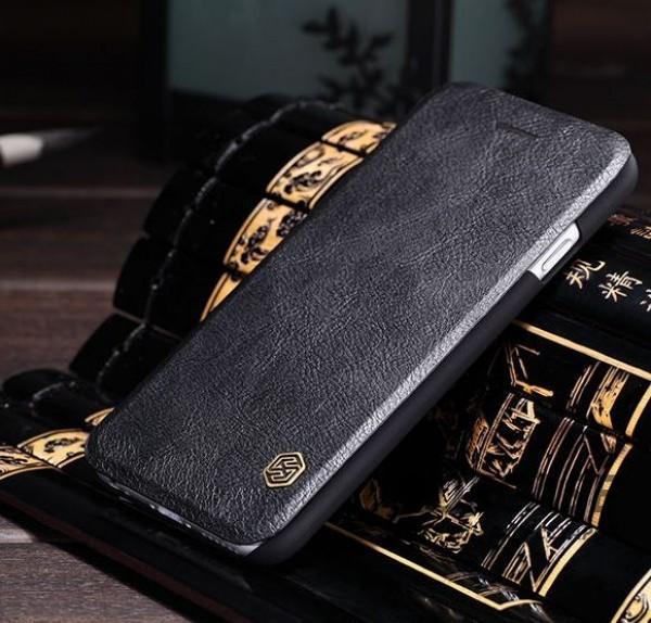 фото кожаный чехол (книжка) Nillkin Qin Series для Apple iPhone 6/6s (4.7