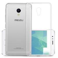 Ультратонкий силиконовый чехол для Meizu M5