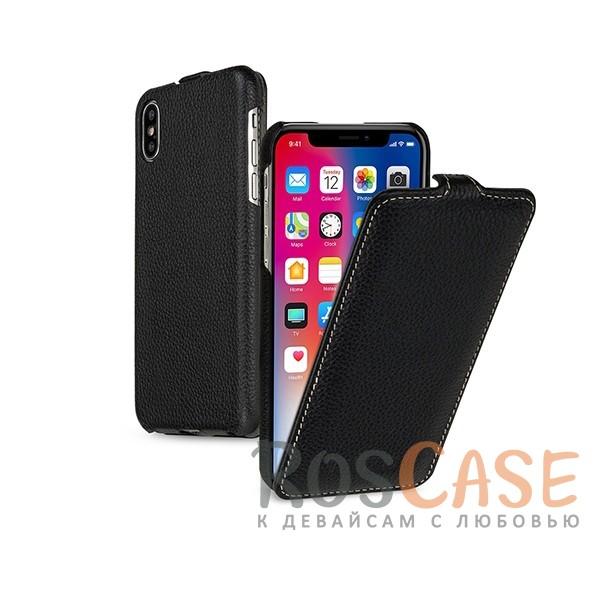 Прошитый флип из натуральной кожи TETDED для Apple iPhone X (5.8) (Черный / Black)Описание:бренд  - &amp;nbsp;Tetded;совместимость - Apple iPhone X (5.8);материал  -  высококачественная коровья кожа;тип  -  флип;легко устанавливается;прошит по периметру;защита от механических повреждений;на чехле не заметны отпечатки пальцев;все необходимые функциональные вырезы.<br><br>Тип: Чехол<br>Бренд: TETDED<br>Материал: Натуральная кожа