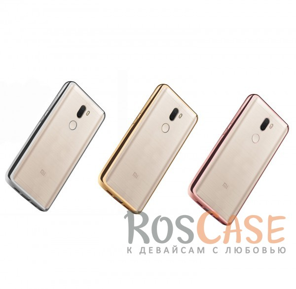 Прозрачный силиконовый чехол для Xiaomi Mi 5s Plus с глянцевой окантовкойОписание:совместим с Xiaomi Mi 5s Plus;материал - термополиуретан;тип - накладка.<br><br>Тип: Чехол<br>Бренд: Epik<br>Материал: TPU