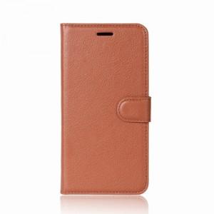 Wallet | Кожаный чехол-кошелек с внутренними карманами для LG Q6 / Q6a / Q6 Prime M700
