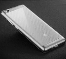 Msvii | Прозрачный силиконовый чехол для Xiaomi Redmi 3 с заглушкой