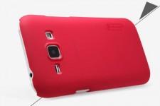 Nillkin Super Frosted Shield   Матовый чехол для Samsung Galaxy J1 Duos SM-J100 (+ пленка)