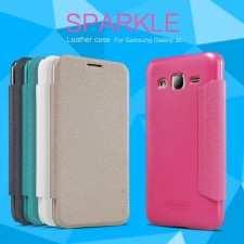 Nillkin Sparkle | Чехол-книжка для Samsung J200H Galaxy J2 Duos