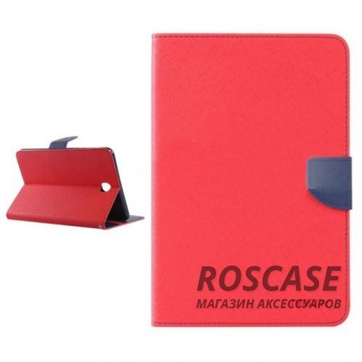 Чехол (книжка) Mercury Fancy Diary series для Samsung Galaxy Tab A 9.7 T550 (Красный / Синий)Описание:бренд&amp;nbsp;Mercury;создан для Samsung Galaxy Tab A 9.7 T550;материалы  -  искусственная кожа, термополиуретан;форма  -  чехол-книжка.&amp;nbsp;Особенности:рельефная поверхность;все функциональные вырезы в наличии;внутренние кармашки;магнитная застежка;защита от механических повреждений;трансформируется в подставку.<br><br>Тип: Чехол<br>Бренд: Mercury<br>Материал: Искусственная кожа