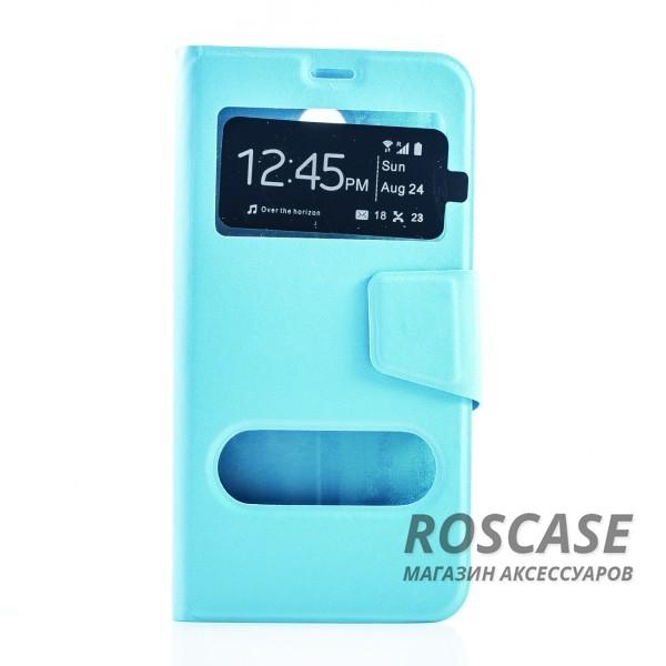 Чехол-обложка с окном для экрана и функцией трансформации в подставку для Meizu M2 Note (Голубой)Описание:произведен компанией&amp;nbsp;Epik;идеально совместим с Meizu M2 Note;материал: искусственная кожа;тип: чехол-книжка.&amp;nbsp;Особенности:фиксация обложки магнитной застежкой;все функциональные вырезы в наличии;защита от ударов и падений;в обложке предусмотрены&amp;nbsp;окошки;трансформируется в подставку.<br><br>Тип: Чехол<br>Бренд: Epik<br>Материал: Искусственная кожа