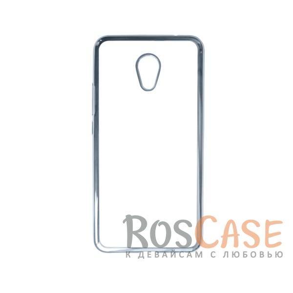 Прозрачный силиконовый чехол для Meizu MX6 с глянцевой окантовкой (Серебряный)Описание:совместим с Meizu MX6;материал - термополиуретан;тип - накладка.<br><br>Тип: Чехол<br>Бренд: Epik<br>Материал: TPU