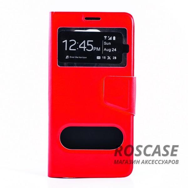 Чехол (книжка) с TPU креплением для Samsung Galaxy Note 5 (Красный)Описание:производитель - бренд&amp;nbsp;Epik;разработан для Samsung Galaxy Note 5;материал: искусственная кожа;тип: чехол-книжка.&amp;nbsp;Особенности:имеются функциональные вырезы;магнитная застежка;защита от ударов и падений;окошки в обложке;ответ на вызов через обложку;не скользит в руках.<br><br>Тип: Чехол<br>Бренд: Epik<br>Материал: Искусственная кожа