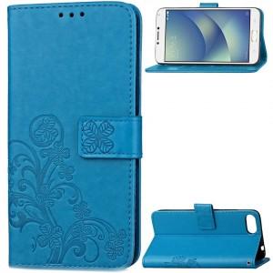Чехол-книжка с узорами на магнитной застёжке для Asus Zenfone 4 Max (ZC554KL)
