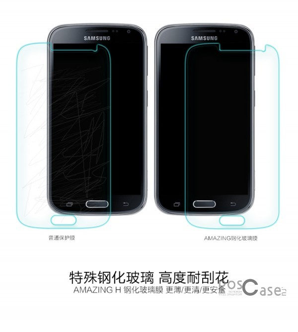 фото защитное стекло Nillkin Anti-Explosion Glass Screen (H) для Samsung C115 Galaxy S5 ZOOM