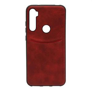 ILEVEL | Чехол с кожаным покрытием и карманом  для Xiaomi Redmi Note 8T