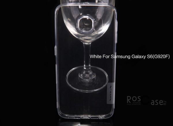 TPU чехол Nillkin Nature Series для Samsung Galaxy S6 G920F/G920D Duos (Бесцветный (прозрачный))Описание:производитель  - &amp;nbsp;Nillkin;совместимость: Samsung Galaxy S6 G920F/G920D Duos;материал  -  термополиуретан;форма  -  накладка.&amp;nbsp;Особенности:в наличии все вырезы;не скользит в руках;ультратонкий;защита от ударов и царапин;на накладке не видны &amp;laquo;пальчики&amp;raquo;.<br><br>Тип: Чехол<br>Бренд: Nillkin<br>Материал: TPU